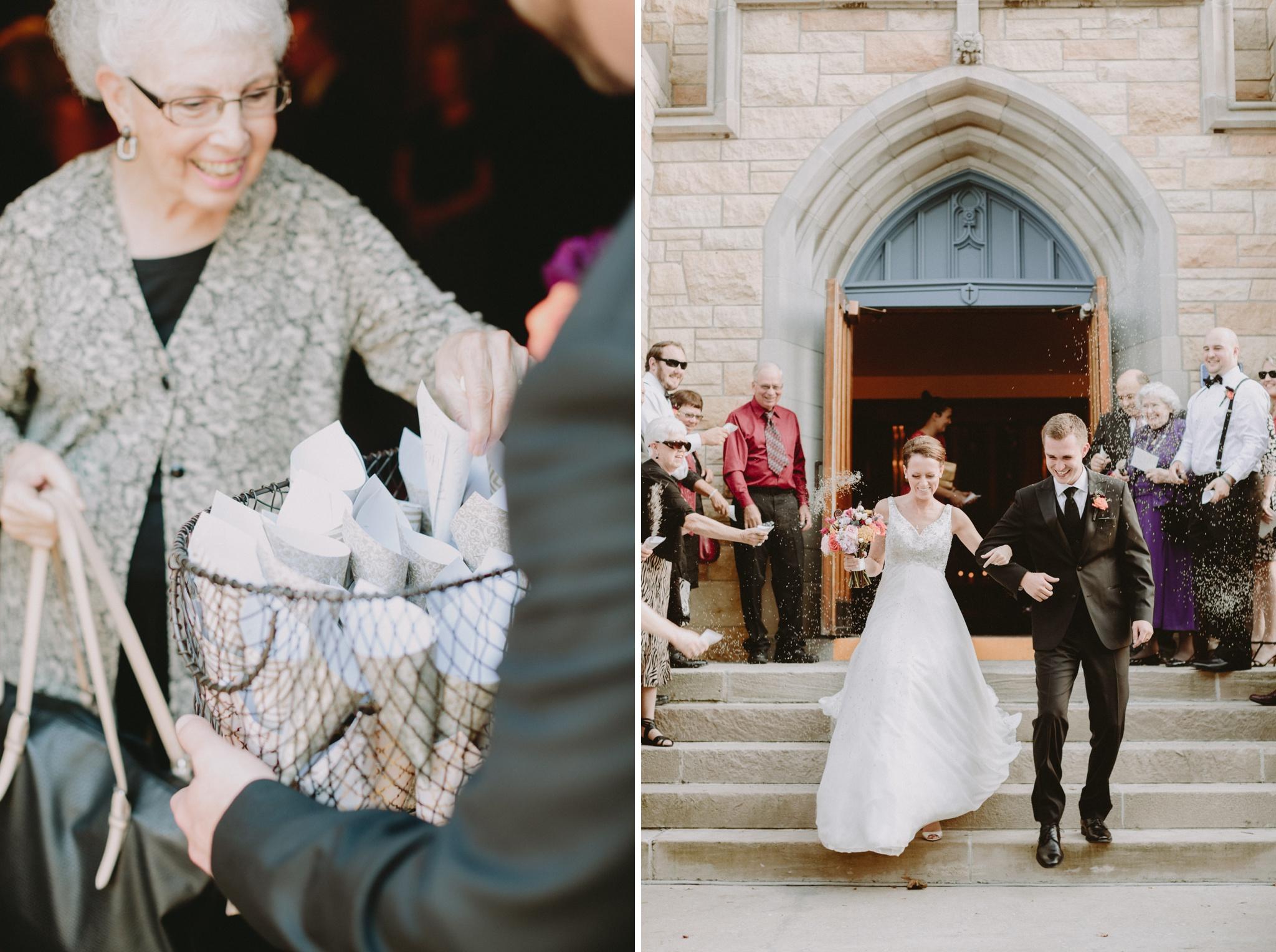 grand-exit-iowa-venue-fort-dodge-church-ceremony-first-presbyterian-bird-seed