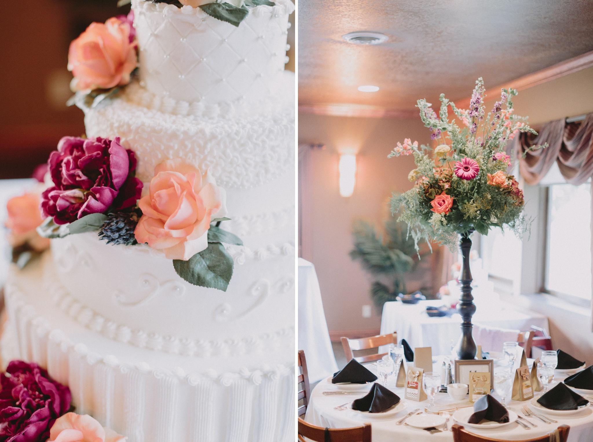 iowa-venue-fort-dodge-willow-ridge-golf-course-decor-purple-pink-flowers