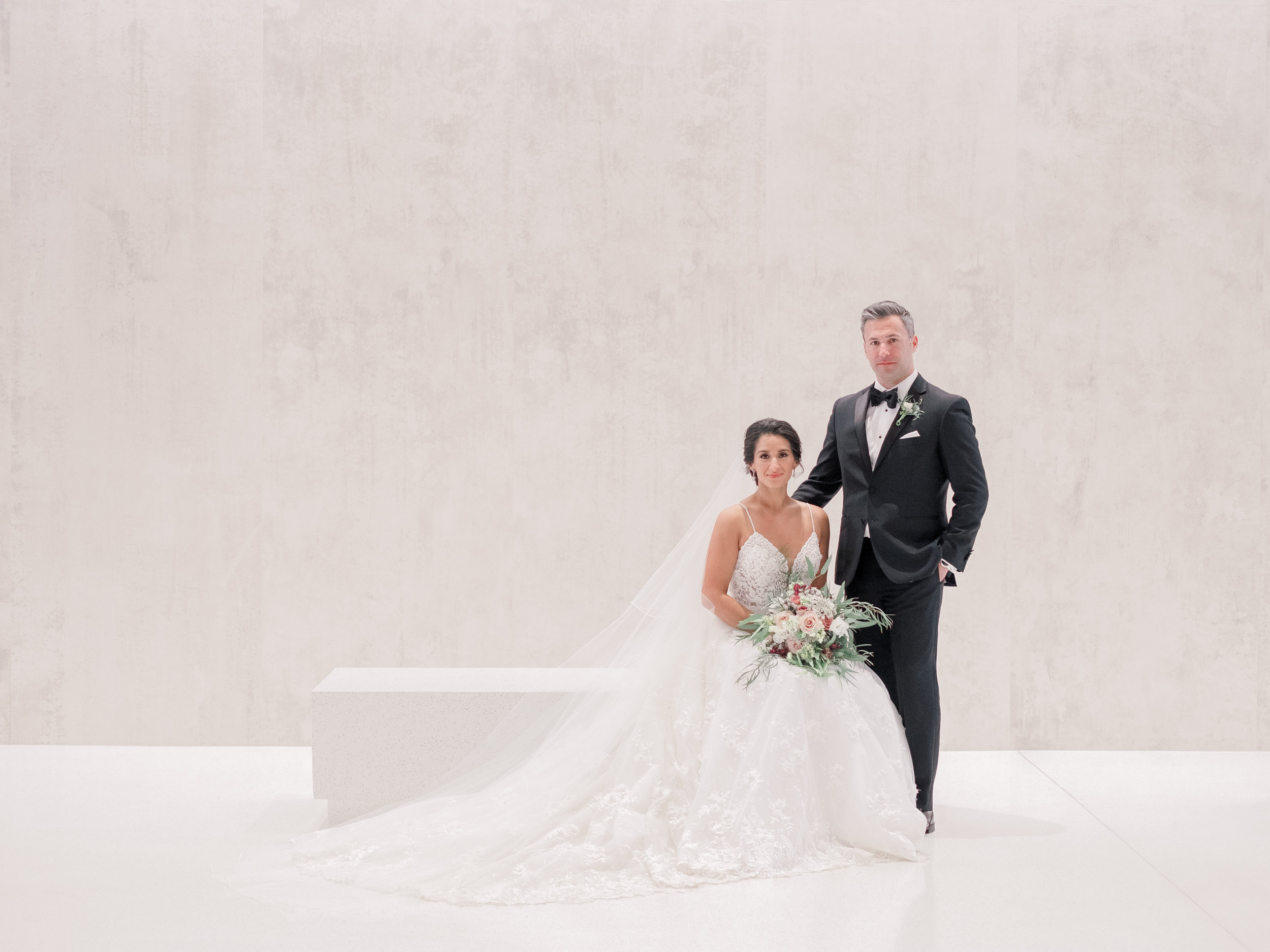 bridal-party-portraits-bride-and-groom-classic-black-tux-planned-by-mostly-becky-weddings