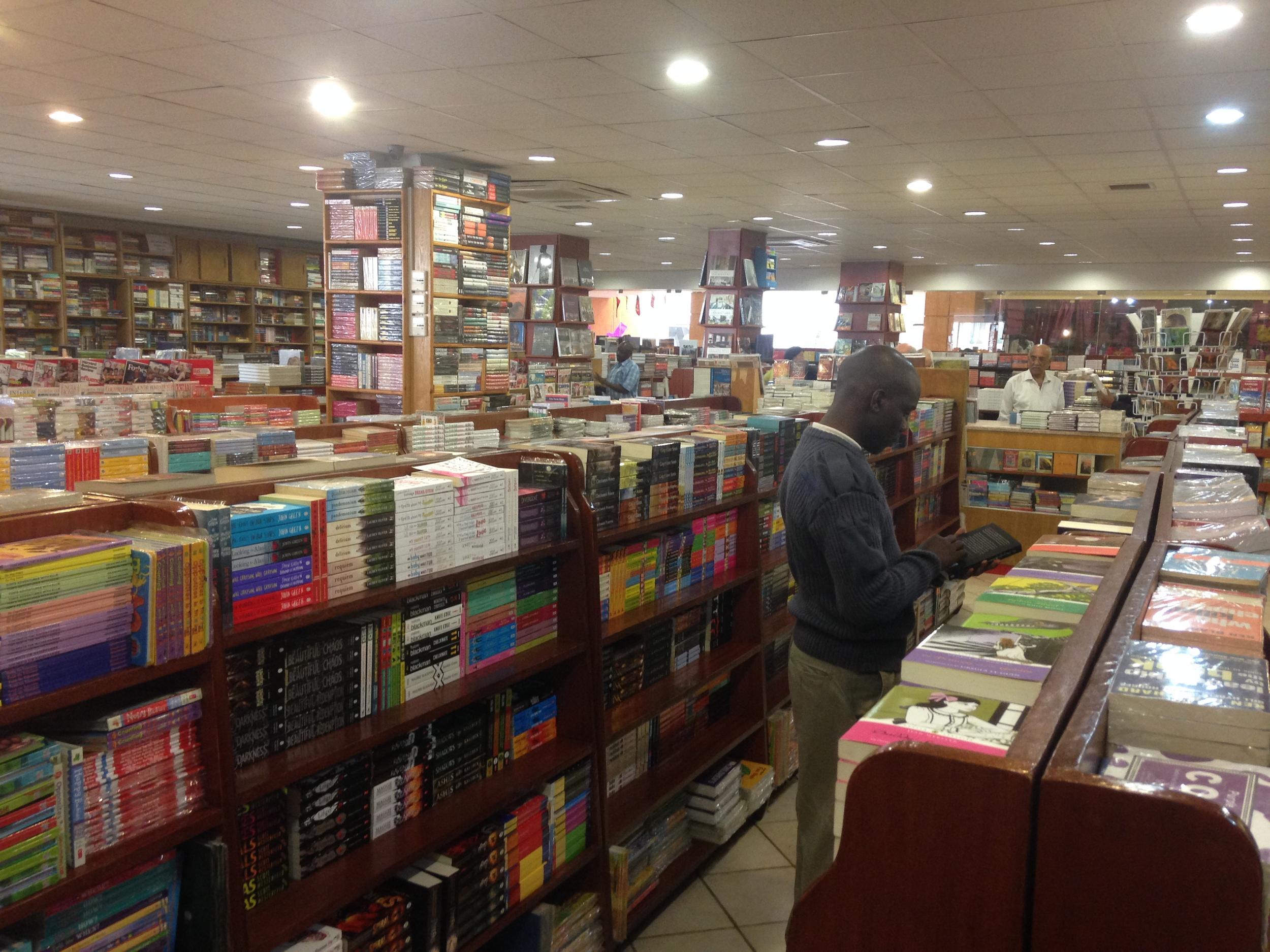 Bookstop Bookshop, Nairobi.