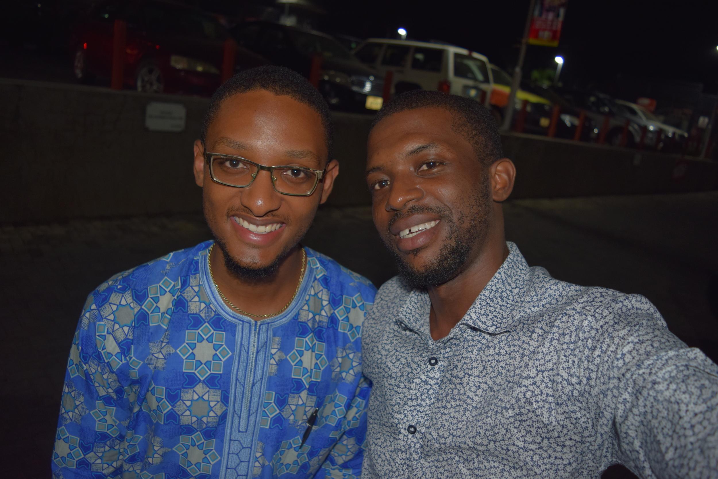 With Kayikunmi, smart guy