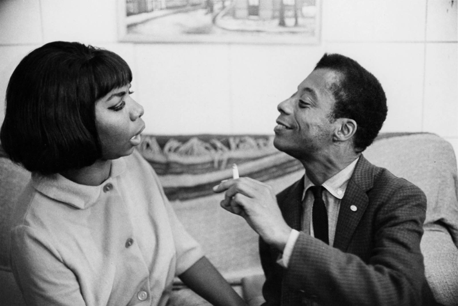 "(Early 1960s. via ""James Baldwin Facebook Page"")"