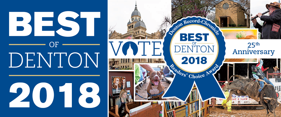 thanks for voting for bargain sleep center - best of denton 2018!