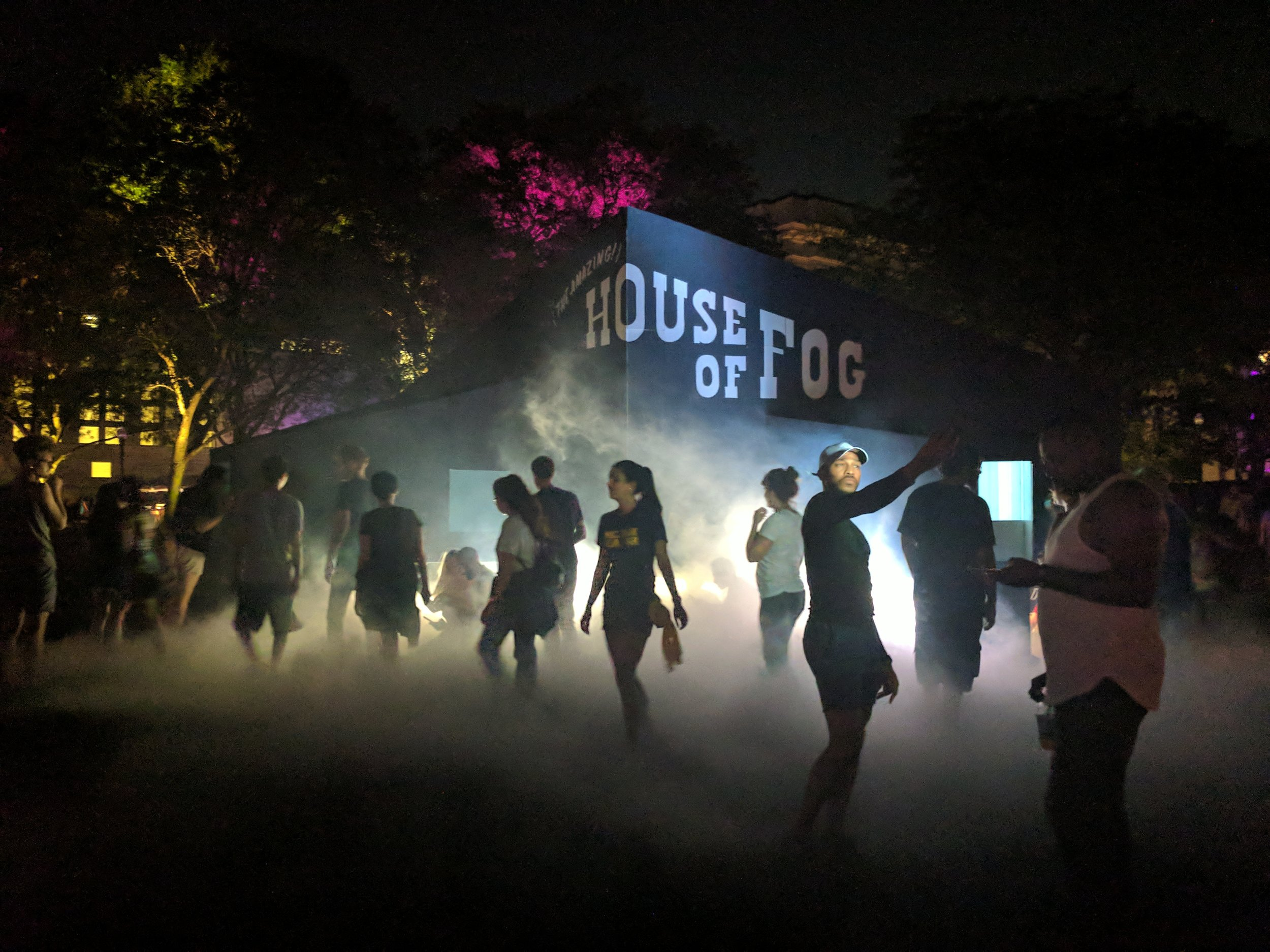 THE {AMAZING} HOUSE OF FOG: IL CINEMA NEBULOSO  @ DLectricity 2017