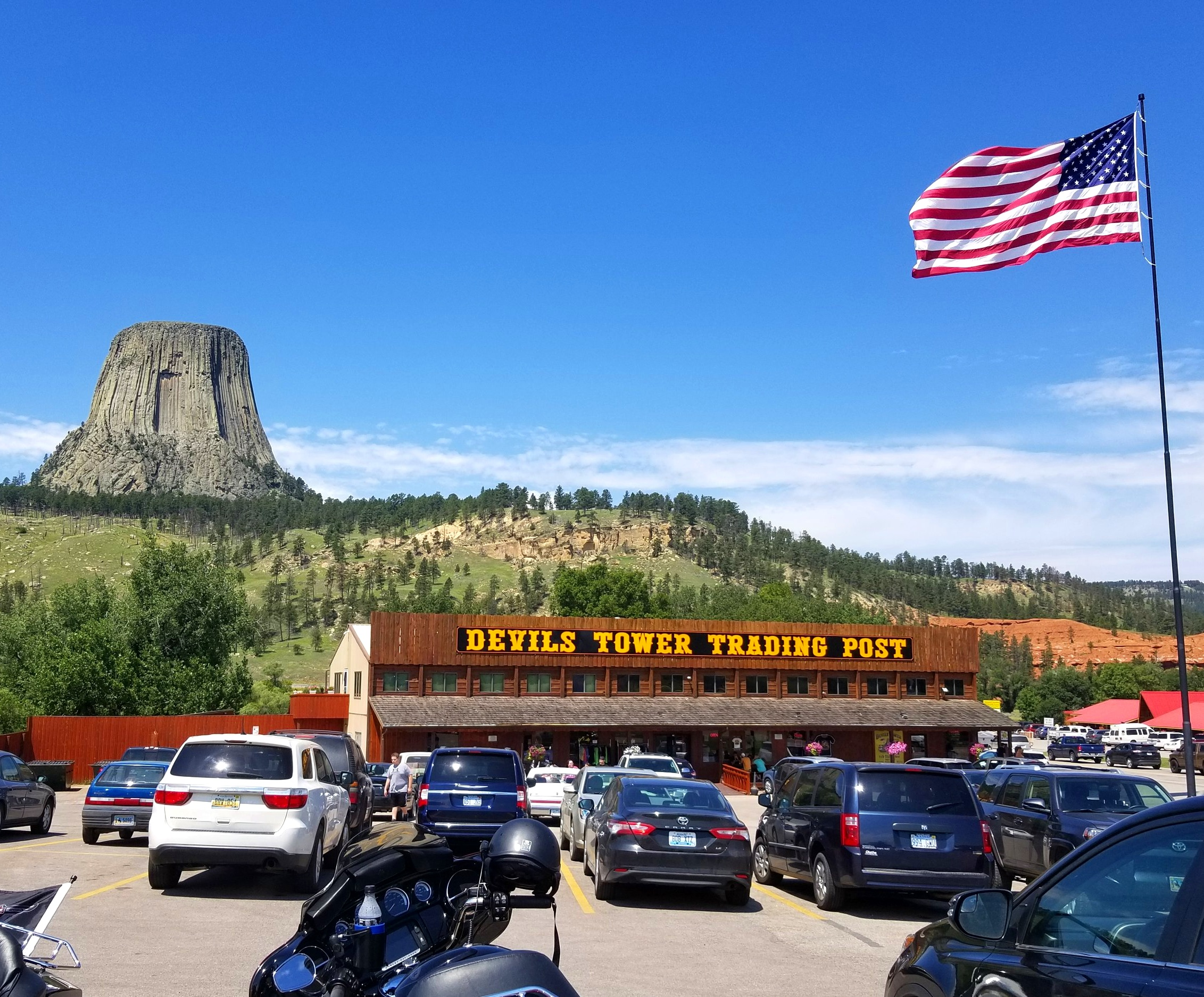 DEVILS TOWER - Take the scenic route from Wickiup to Devil's Tower. One of our favorite rides.