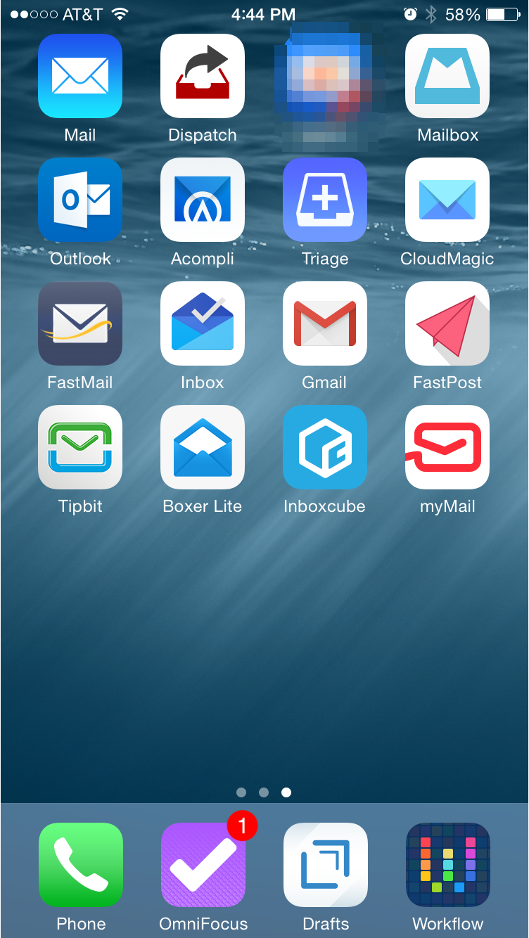 (The blurred icon in the top row is the super secret beta I've been testing)