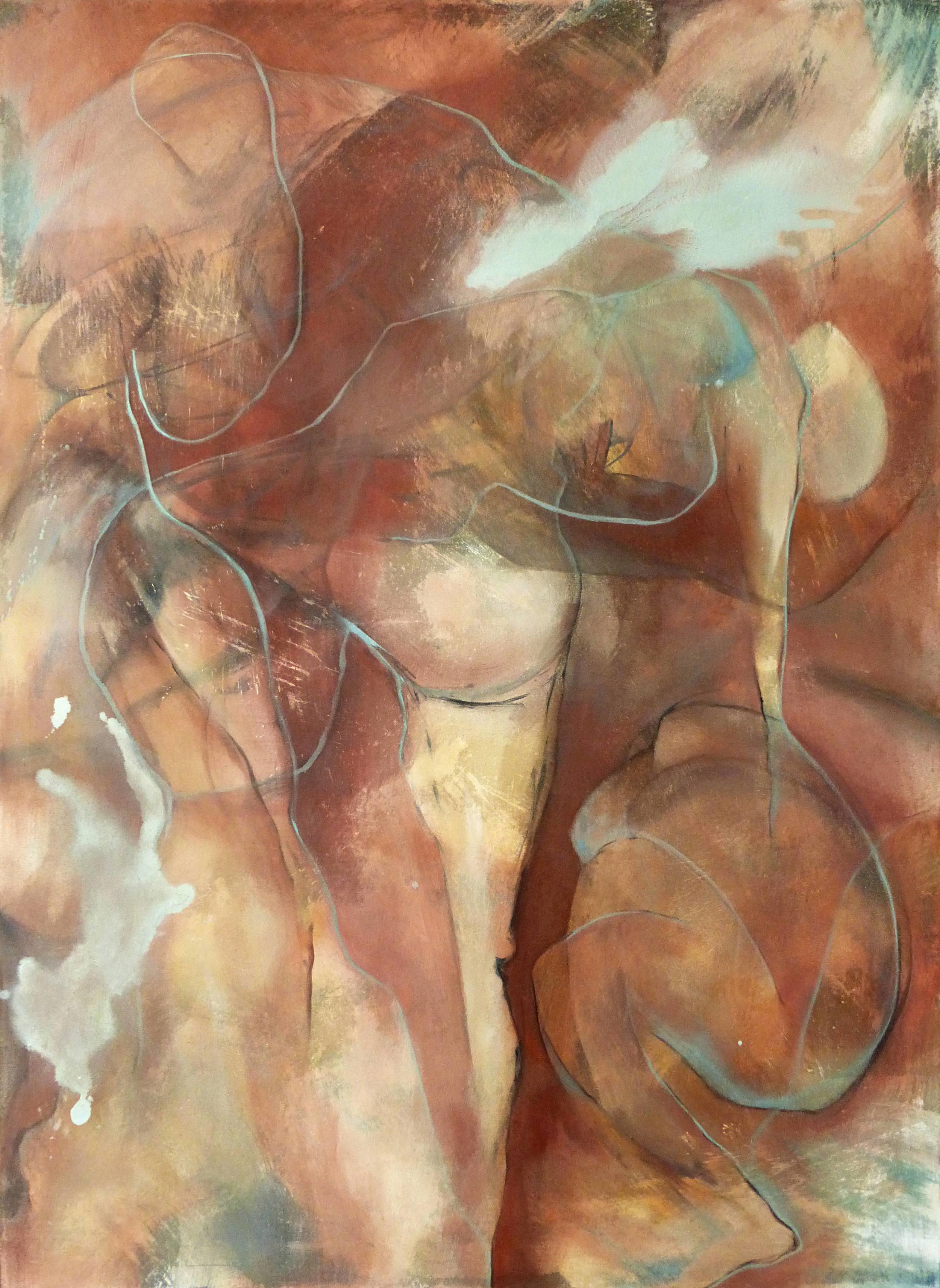 Oil on canvas  150 x 100cm