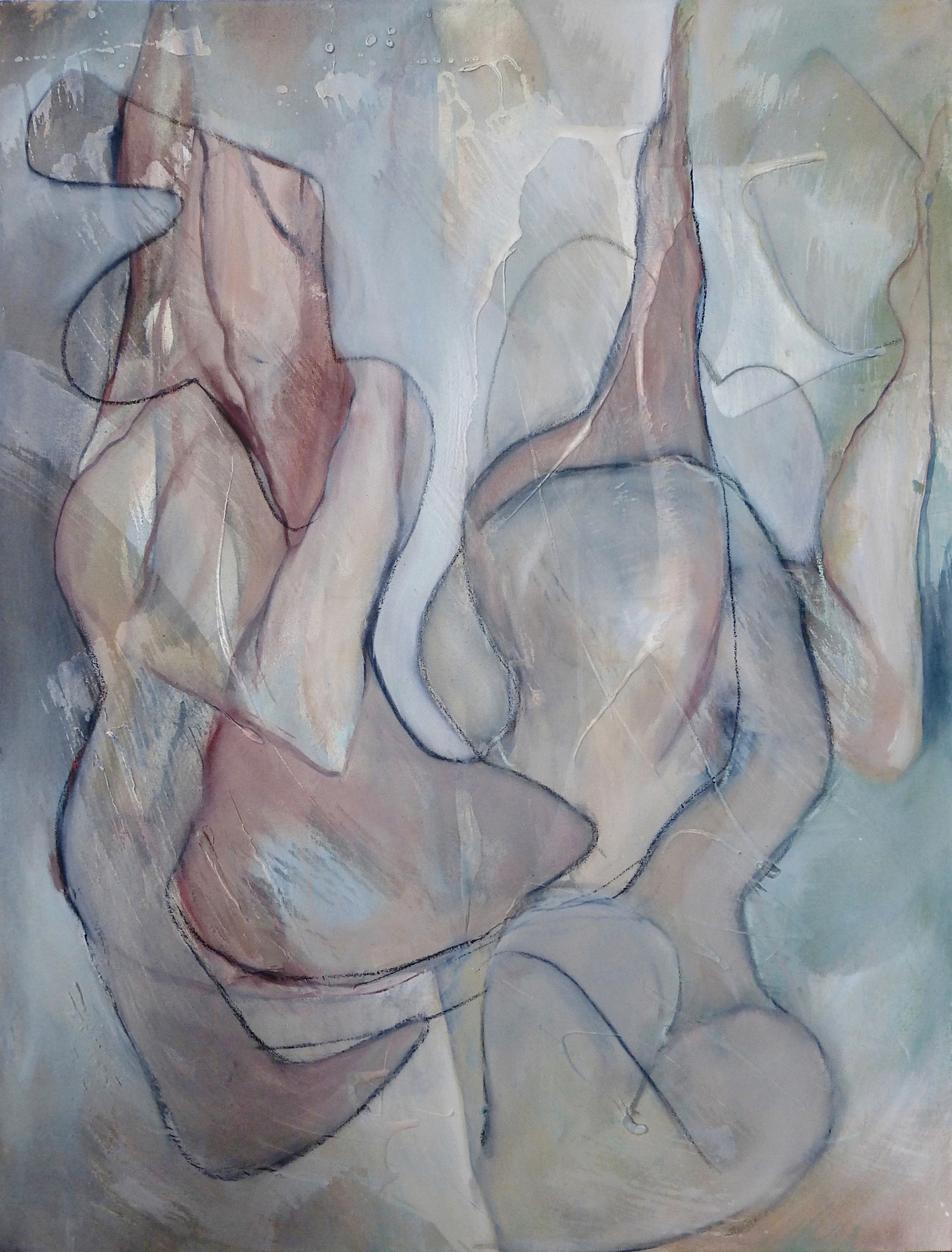 Oil on canvas  100 x 75cm