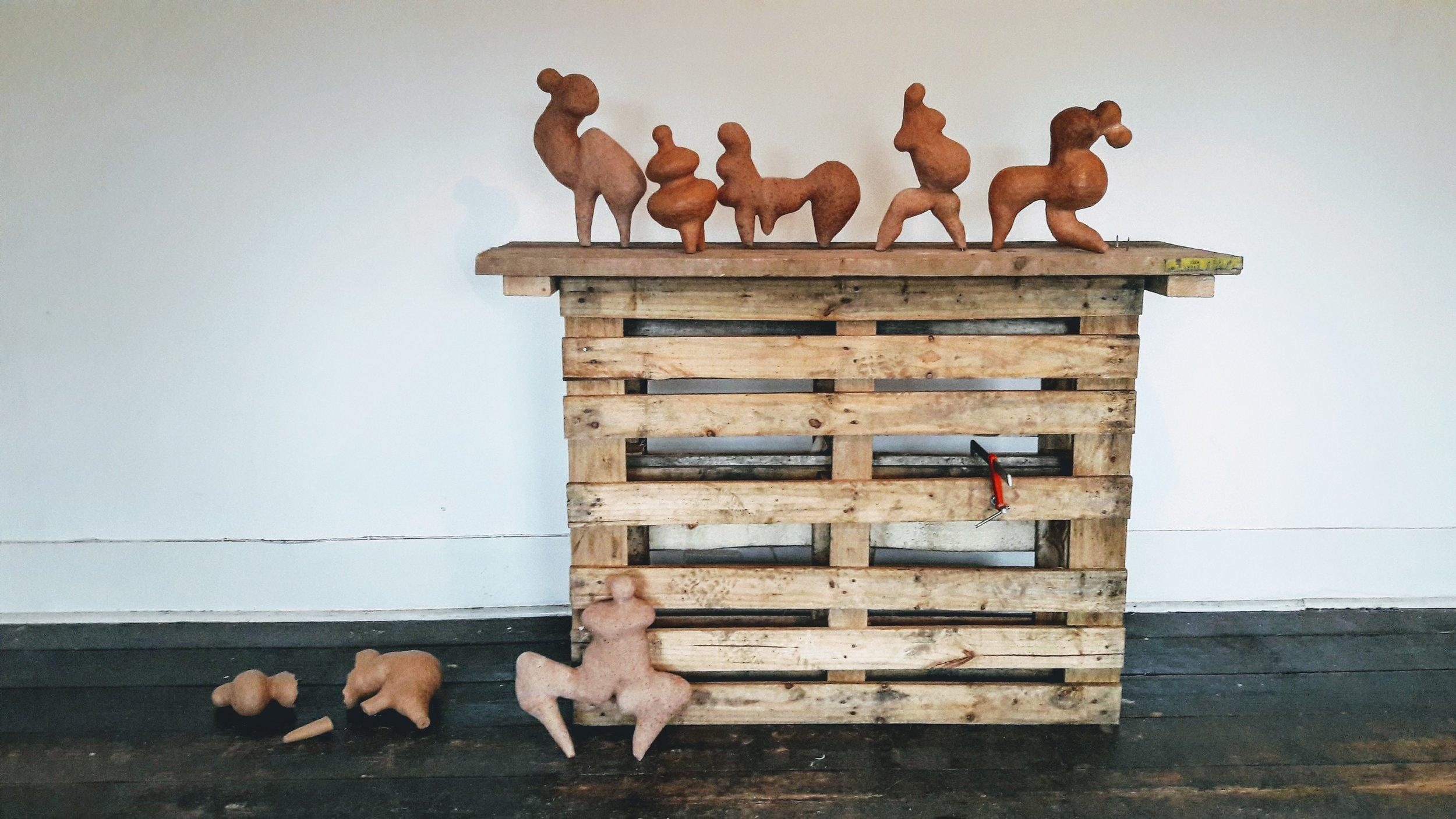 The Herd (installation shot)