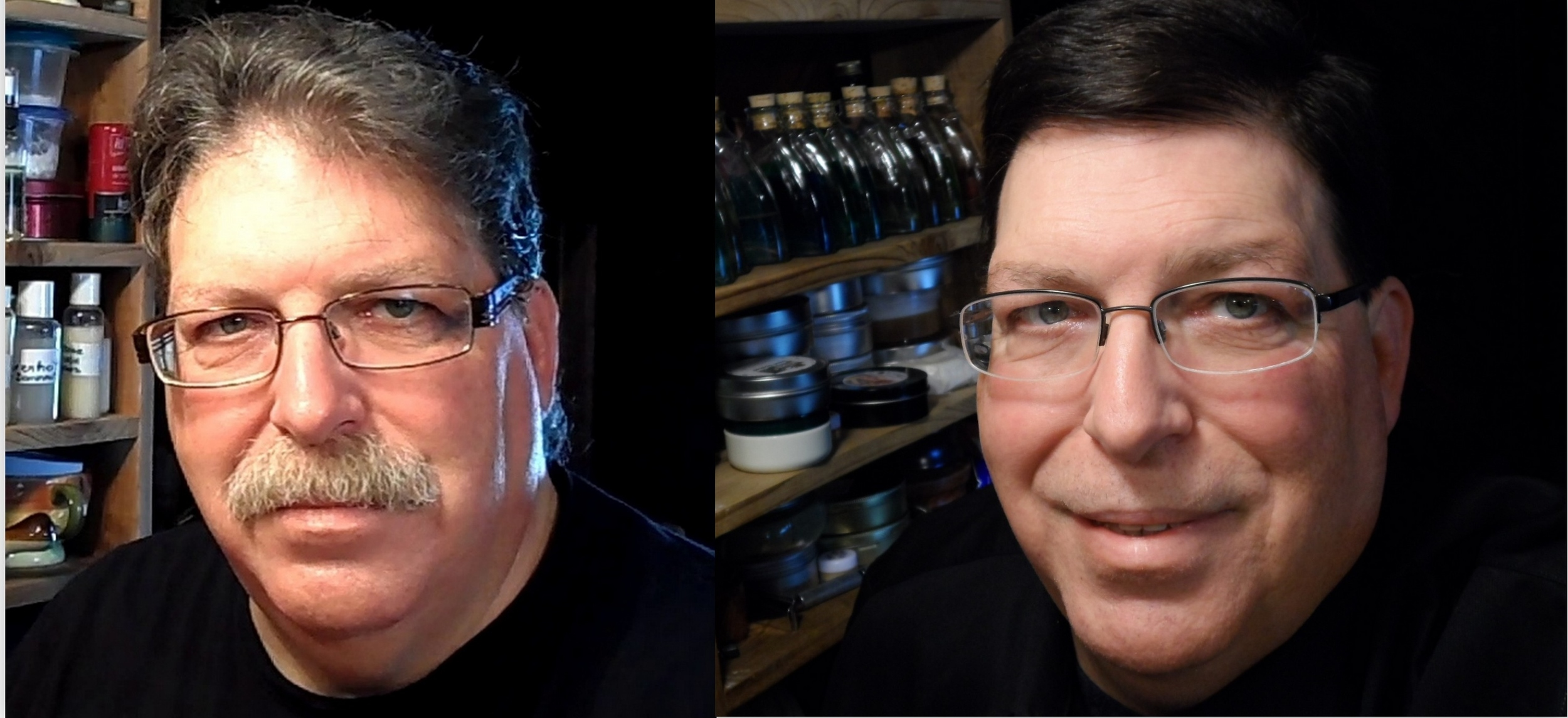 February 2014 (one month before the death of my wife)vs November 2014