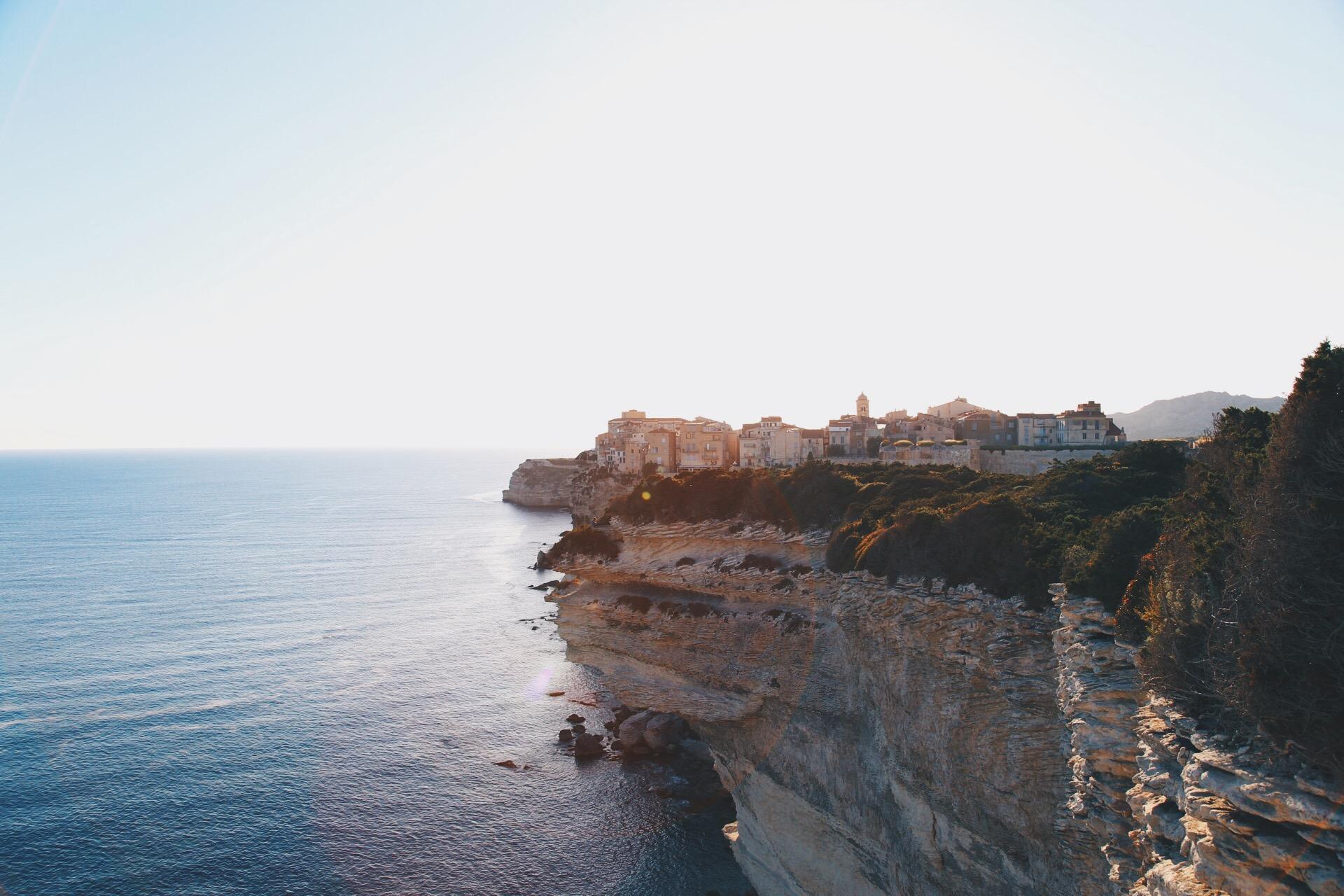 Bonifacio - falaises - sunset.jpg