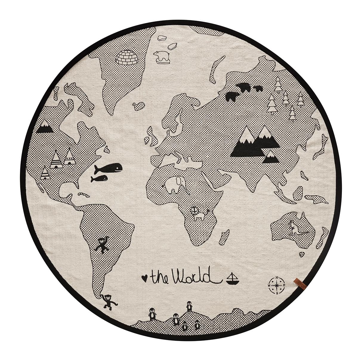 Tapis The World