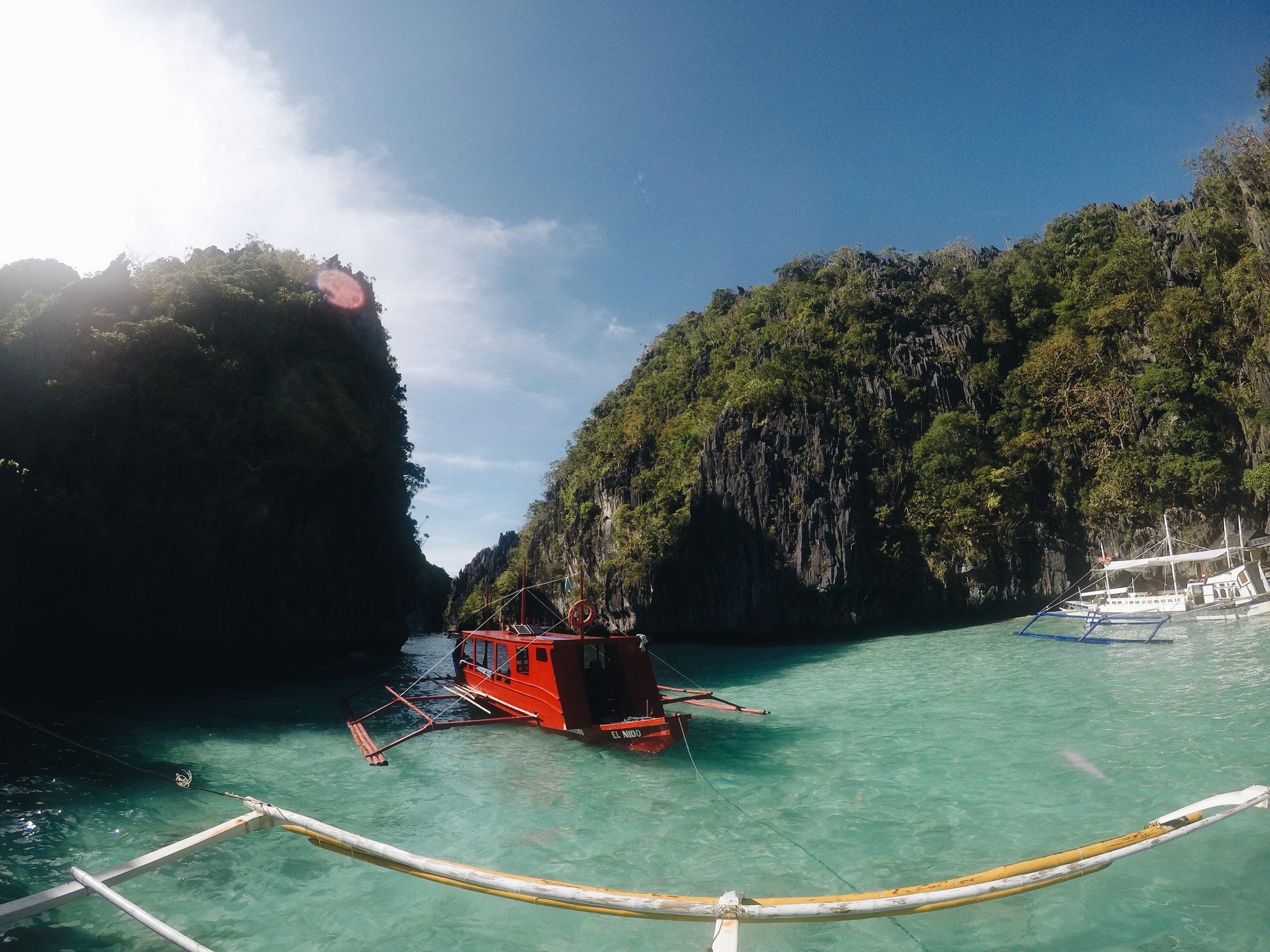 L'entrée de Big Lagoon