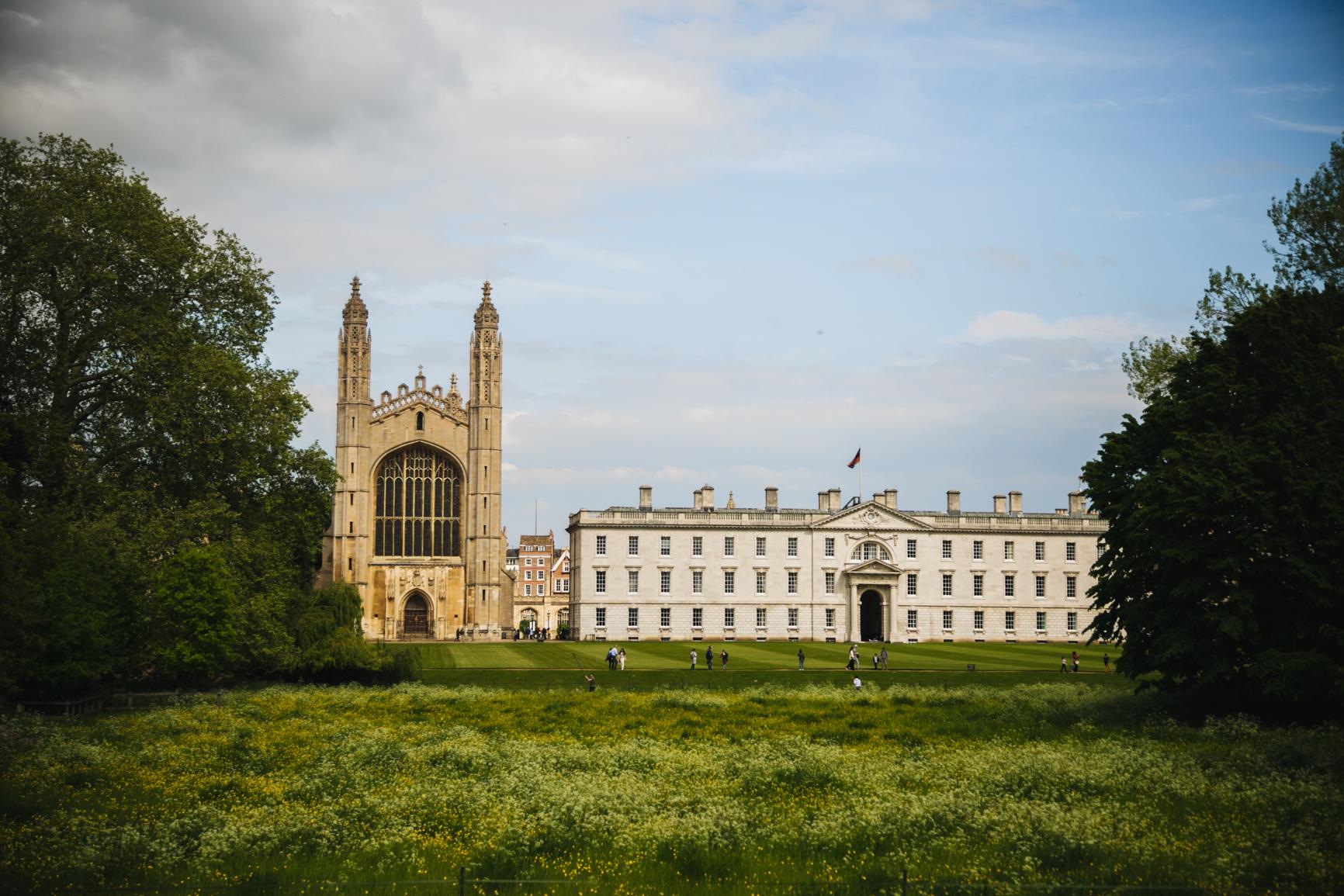 King's College depuis les Backs