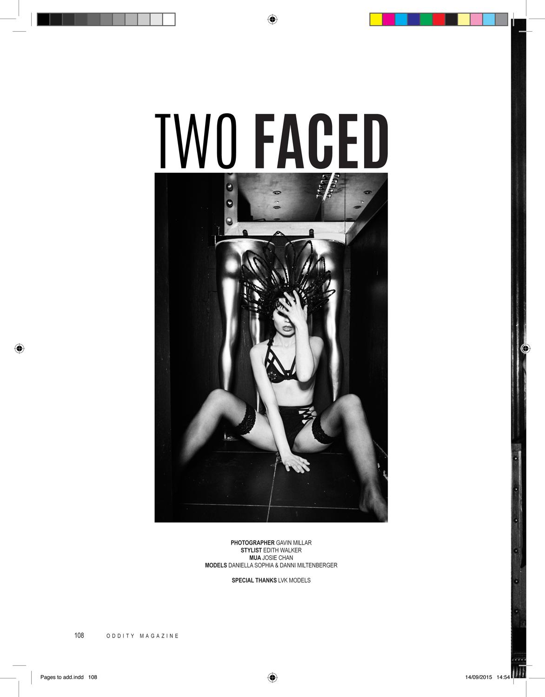 TWO FACED | GAVIN MILLAR