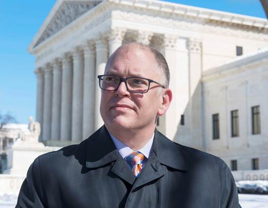 Jim Obergefell, lead plaintiff in  Obergefell v Hodges