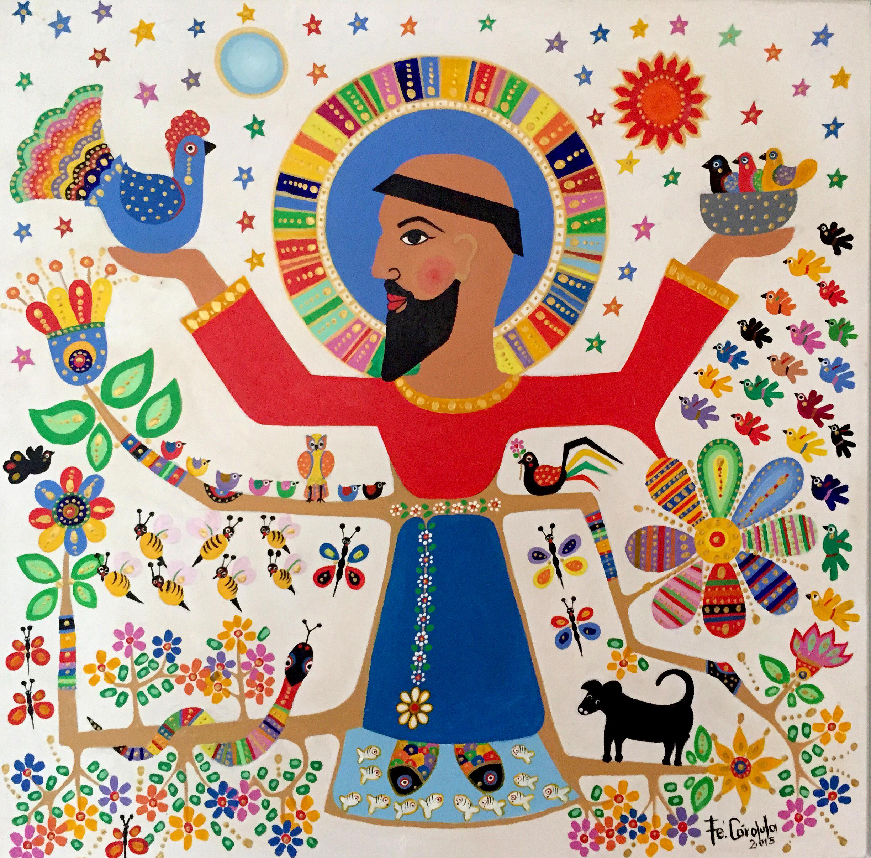 São Francisco e os animais foram temas recorrentes na obra de Fé Córdula.
