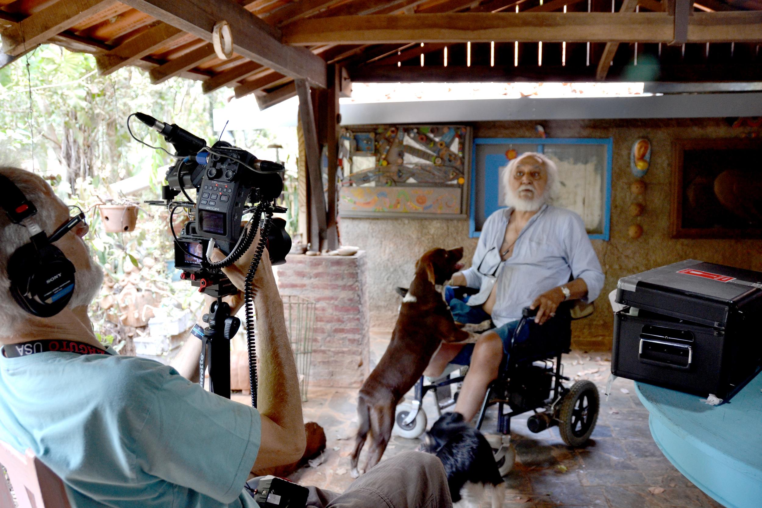 Chico vivia numa chácara entre muitos muitos muitos cães e gatos... (foto Gustavo Porpino)