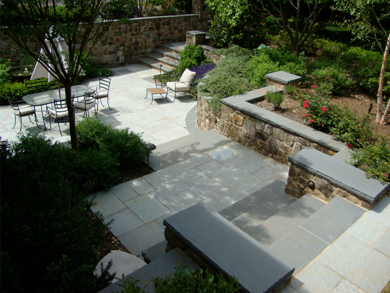 McLean Residence Patio & Stairs