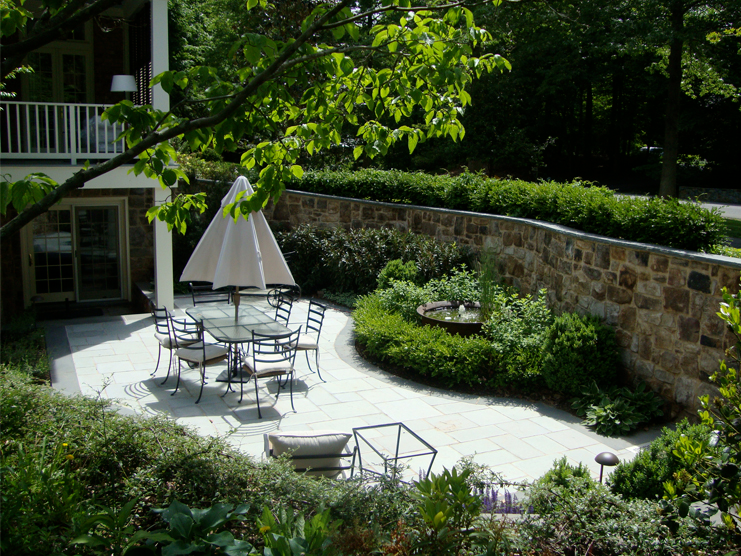 McLean Residence Patio & Wall