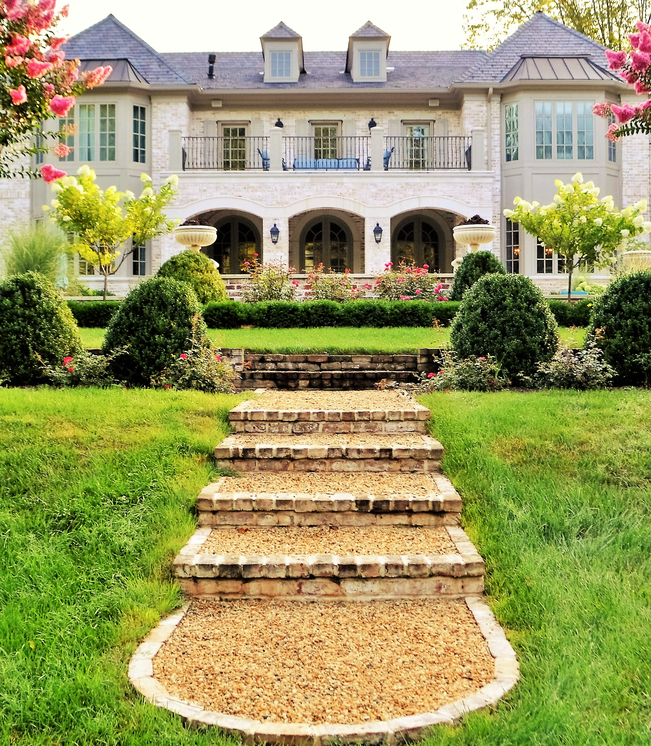 Great Falls, VA French Country Living
