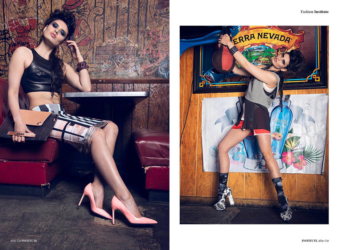 Ethia Clutch, Dragon Claw Cuff & Future East Cuff featured in Institute Magazine