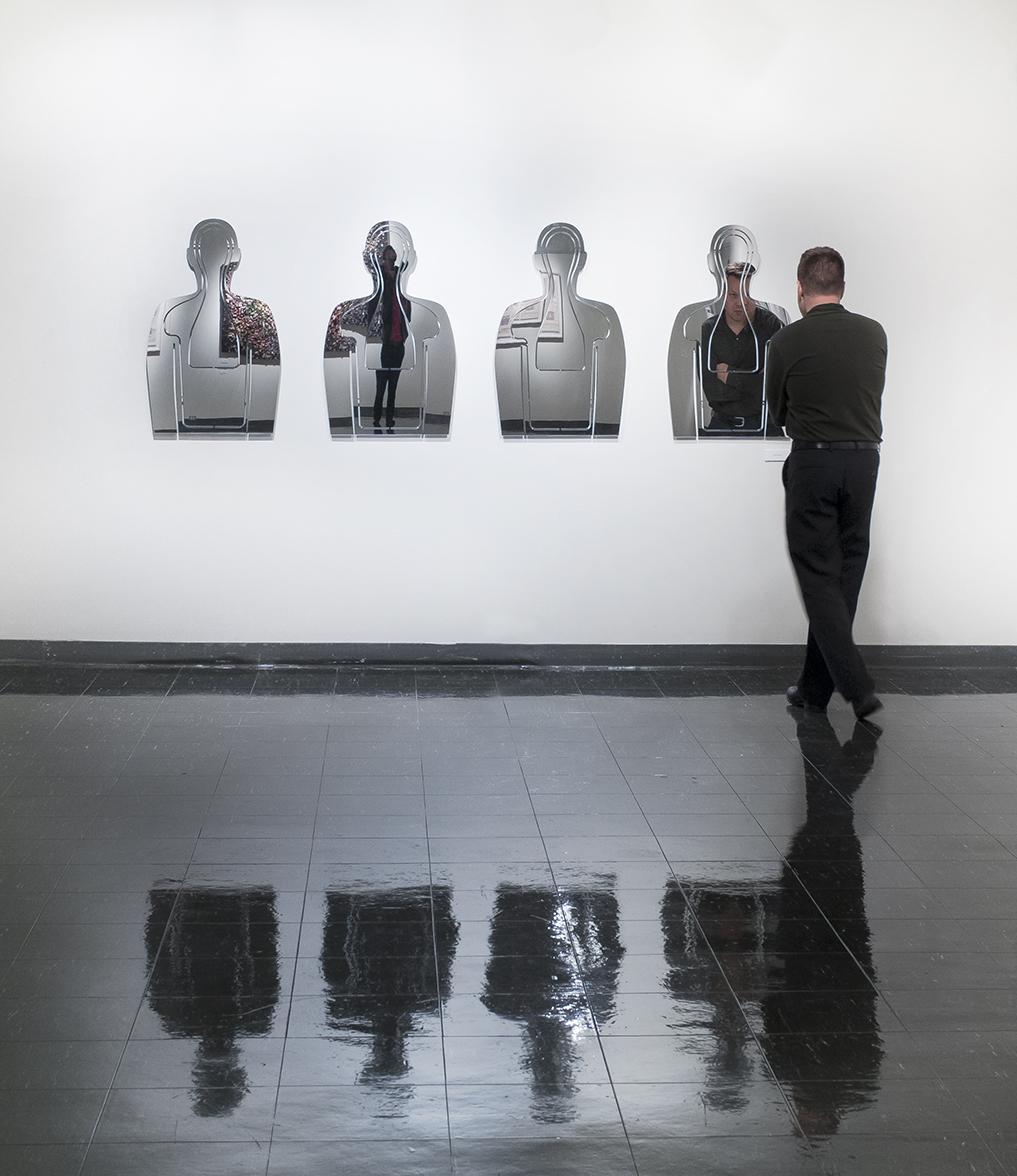 Target Practice (Installation View),  Unheard,  Pratt MWP School of Art Gallery, October 2014