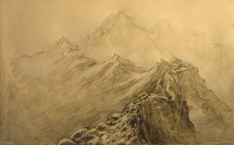 Mountain Path in Mist (Kathleen Hudson).jpg