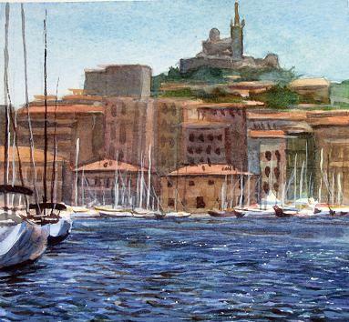 La Vieux Port, Marseilles