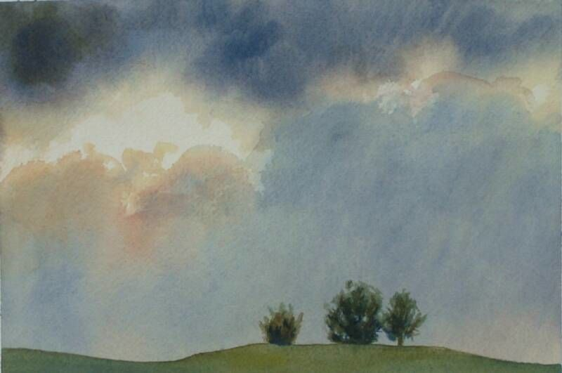 Trees on a Hilltop