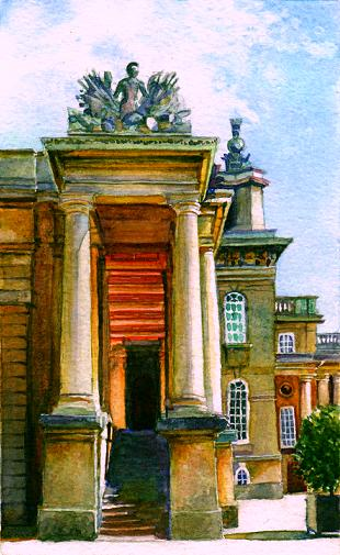 C._Blenheim_Portico__Oxfordshire__UK__2003__4.5_x_7_.JPG