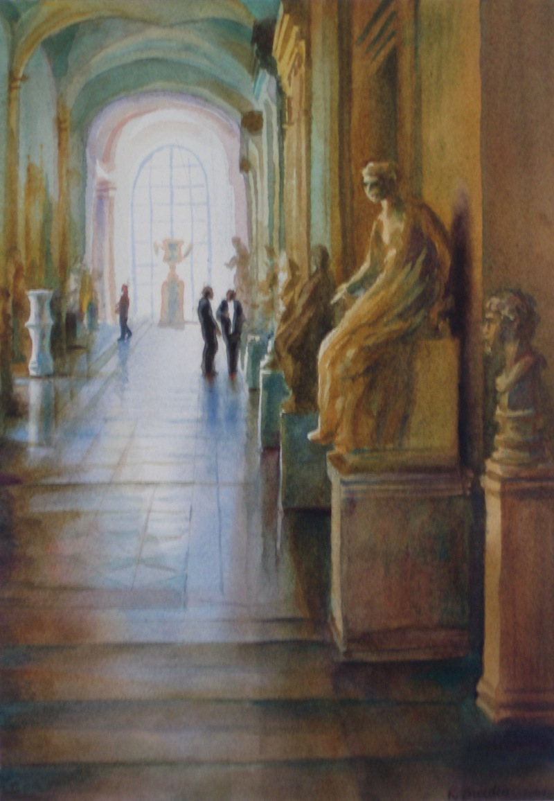 Hall in the Capitoline Museum, Rome.JPG