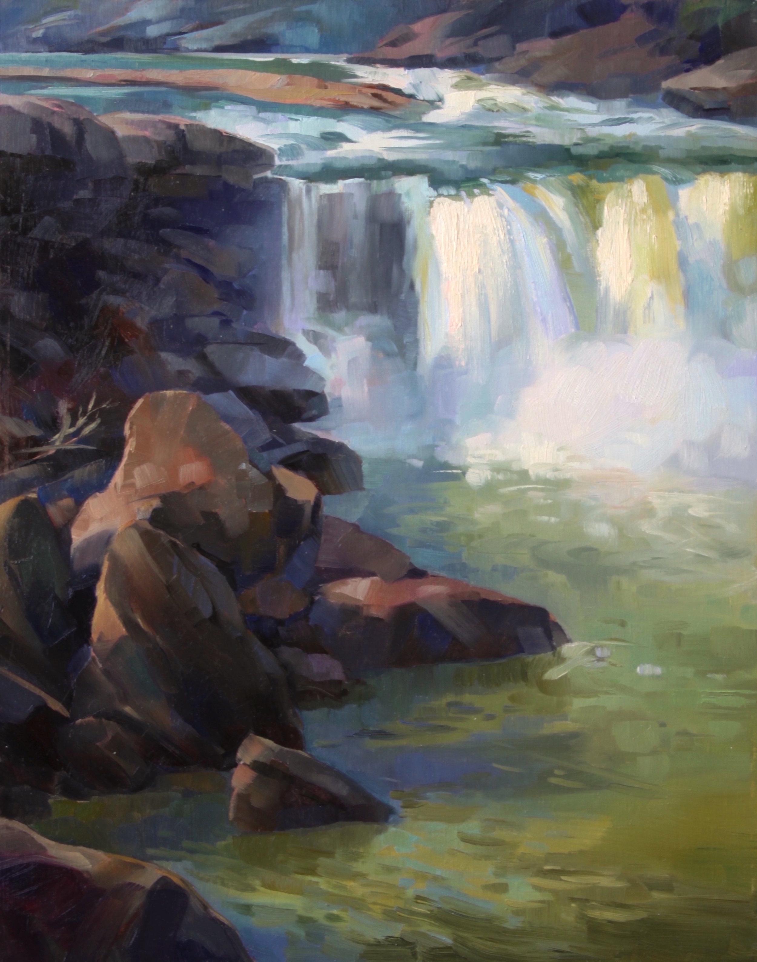 Hudson - Early Morning at Cumberland Falls.JPG
