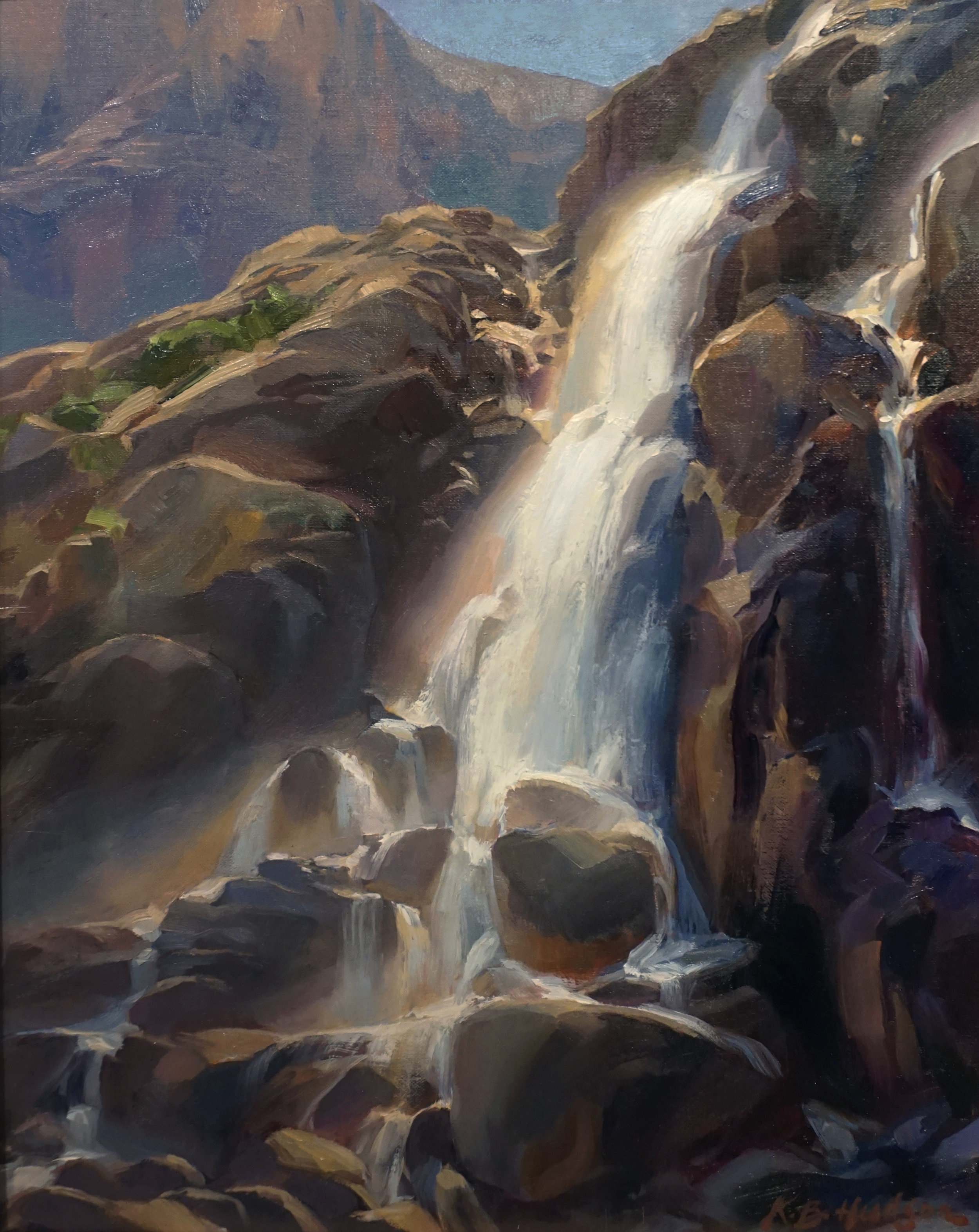 Bright Morning, Timberline Falls