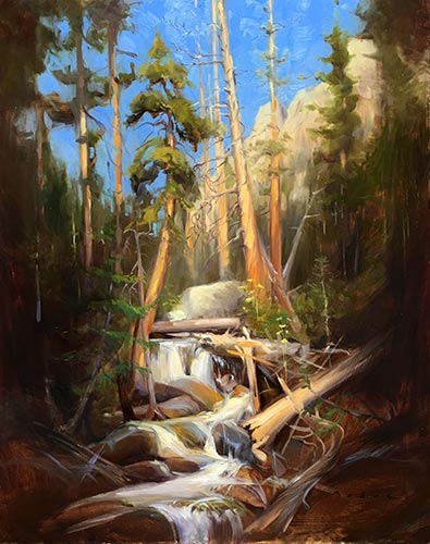 """""""Moment of Enchantment,"""" by Olena Babak, 2016, oil, 20 x 16 in. Charles Partridge Adams Award"""