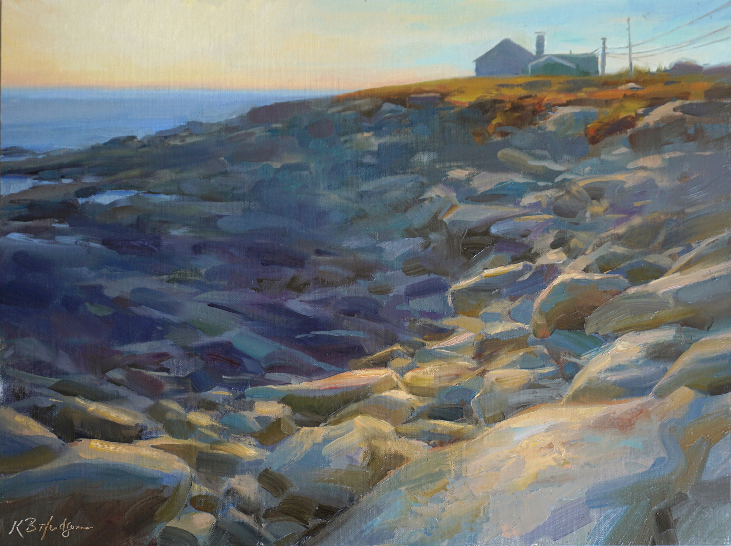 First Light at Halibut Point