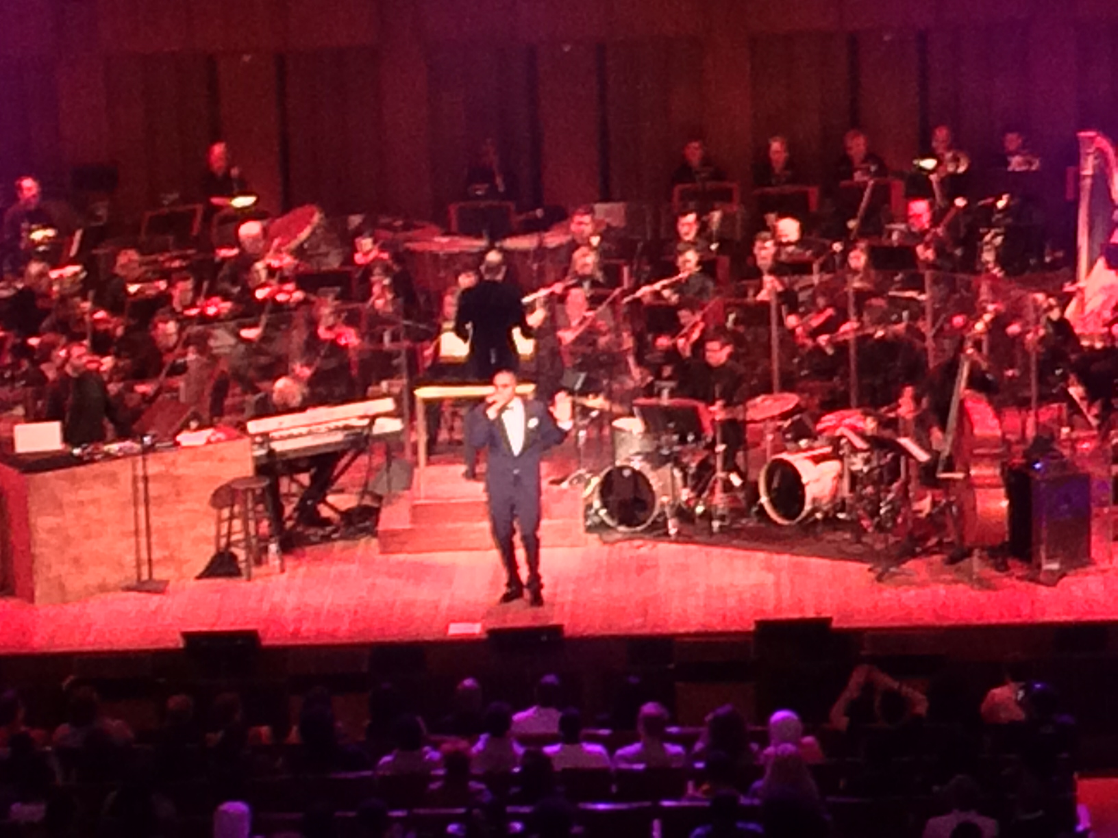 Hip hop artist, Nas and the National Symphony Orchestra at the Kennedy Center.
