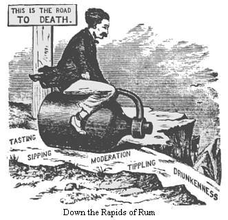 Early Temperance Cartoon