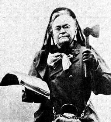 Carrie Nation & Hatchet