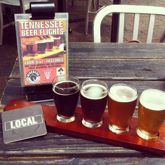 A local flight at The Local Gastropub
