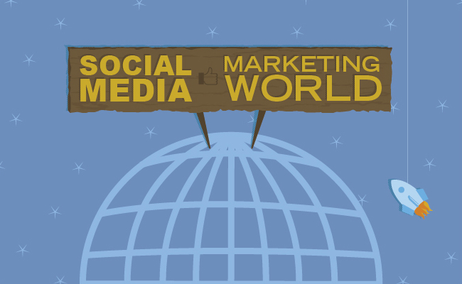 This info-graphic accompanied a blog post written by a coworker about her experience at the Social Media conference.