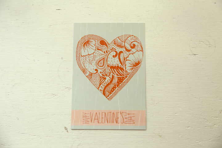 A Valentine's Day card I illustrated and designed for fun.