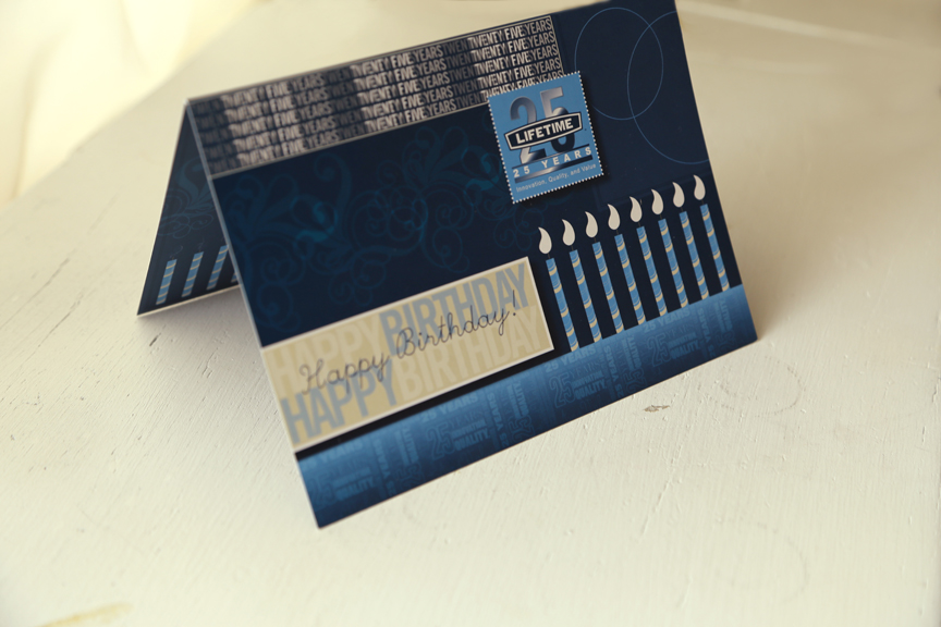 Birthday card I illustrated and designed for Lifetime Product's employees.