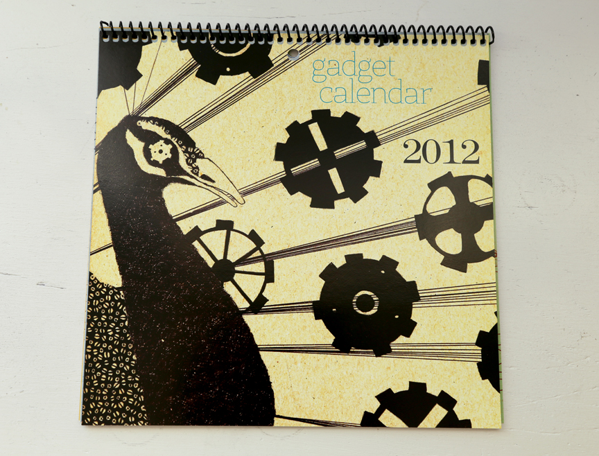 I find the steampunk style so fascinating so I just had to make a calendar of animals made up of cogs and gadgets. Selling on my etsy page for the year 2014.