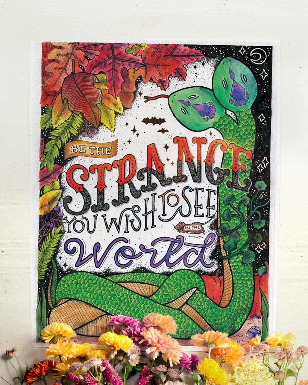 Be the Strange_flat lay.jpg