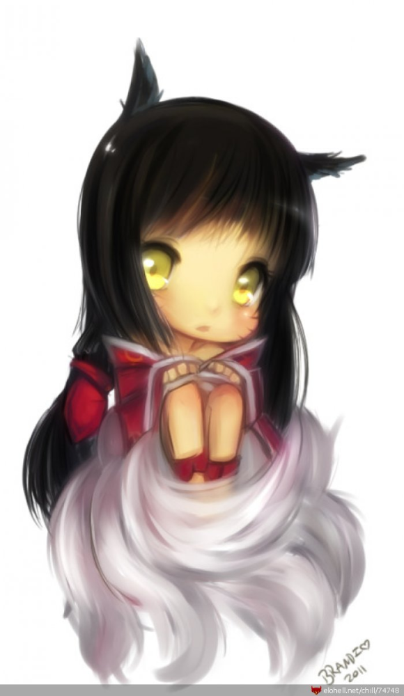 aww, Ahri's so cute!