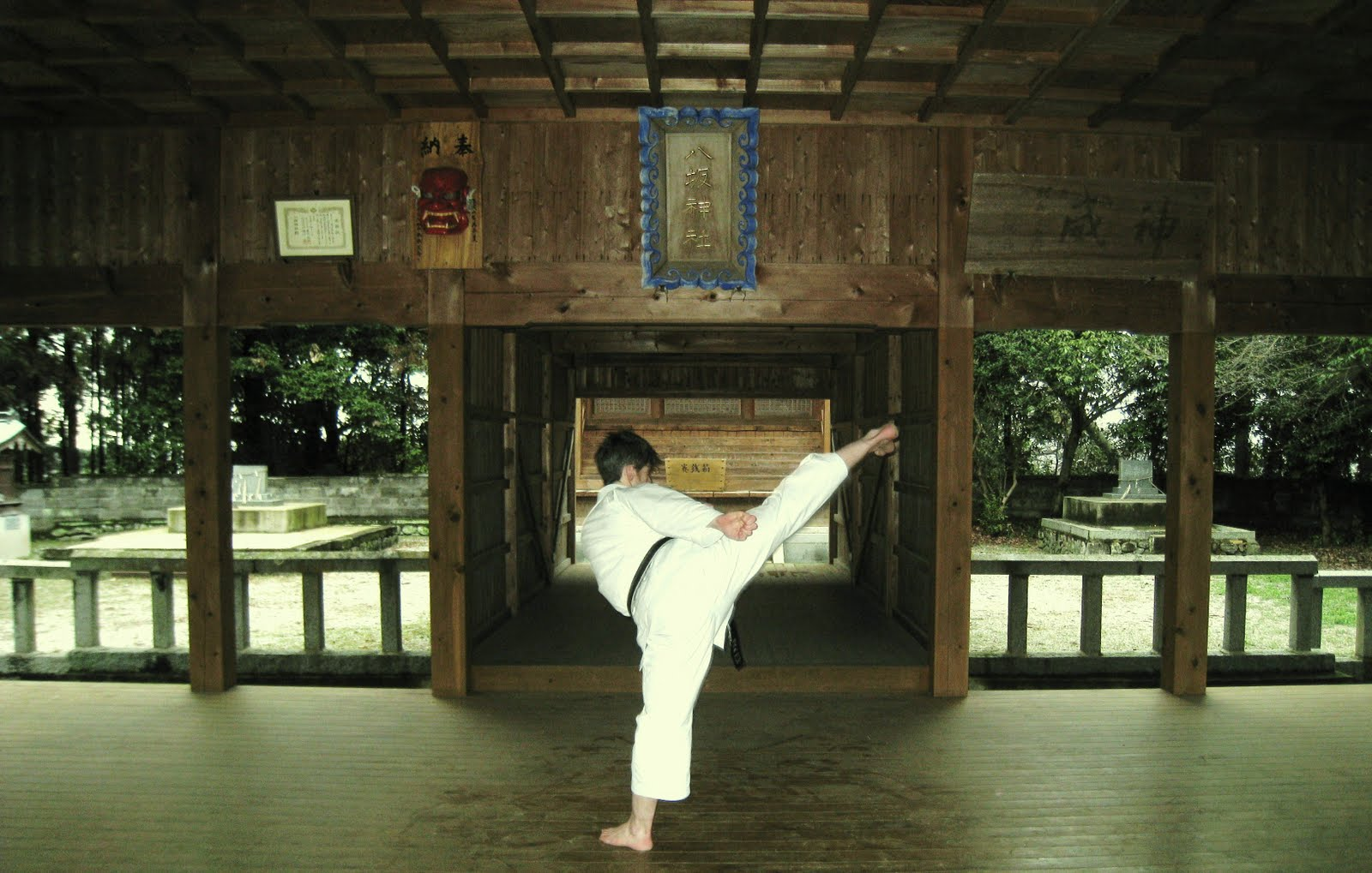 Not to mention the most authentic martial arts experiences possible...