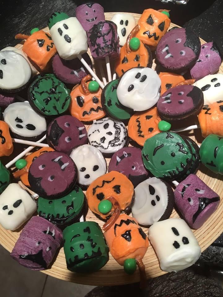 the legendary homemade Halloween treats by Amanda DLC.