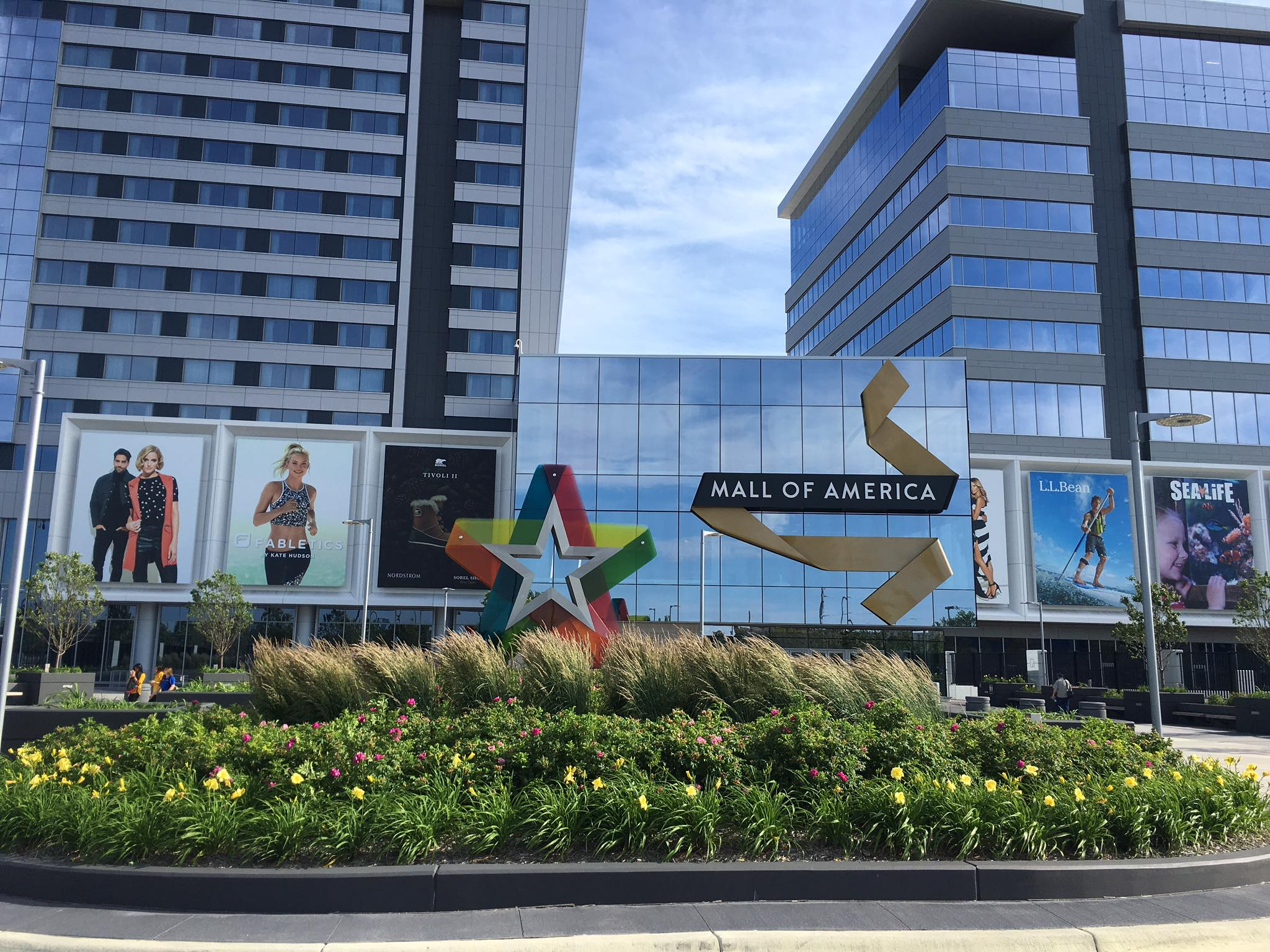 Picture of Mall of America taken from my iPhone