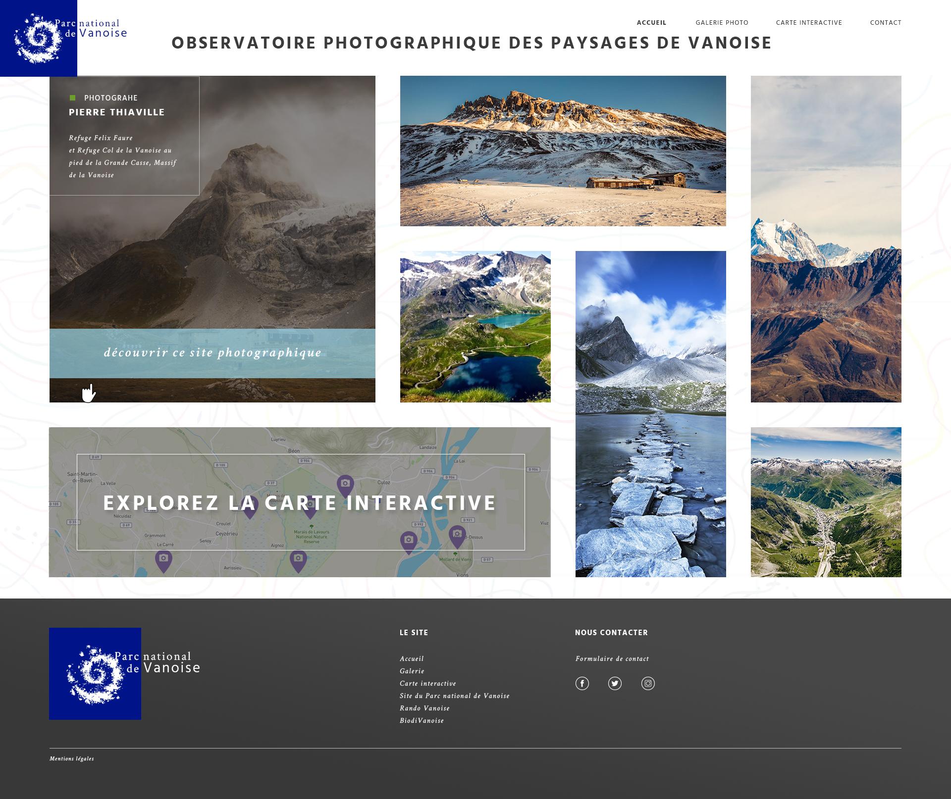 Observatoire photographique des paysages Home page